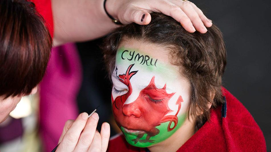 Welsh face kid