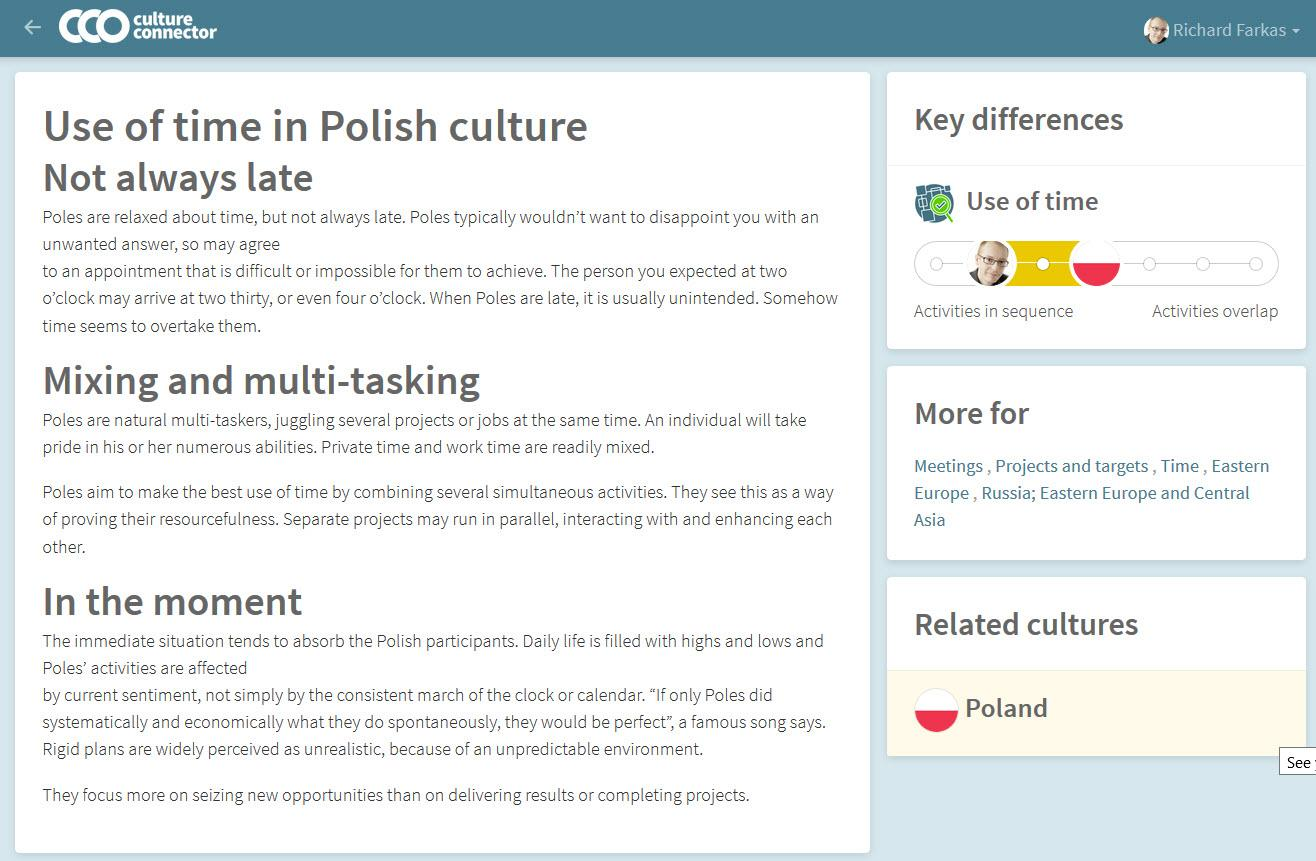 cultural tips elearning