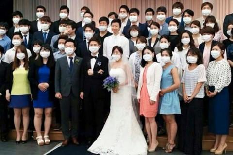 face-masks-korean-wedding