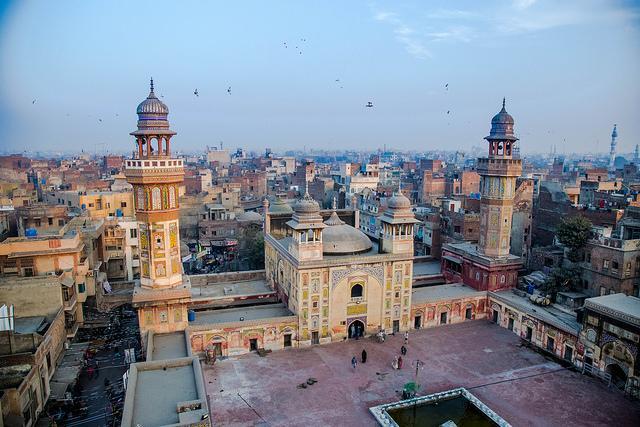 mosque lahore pakistan