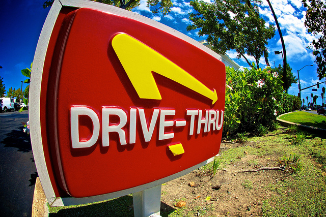 drive thru sign usa