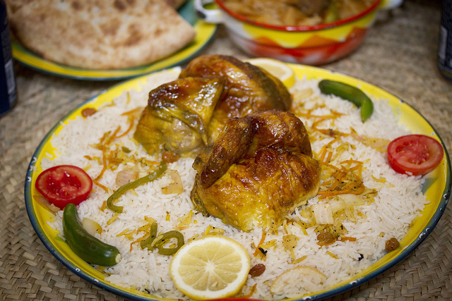 kabsa saudi food